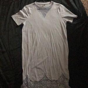 Asos lace T-shirt Dress